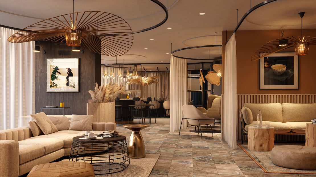 Deansgate Square lounge