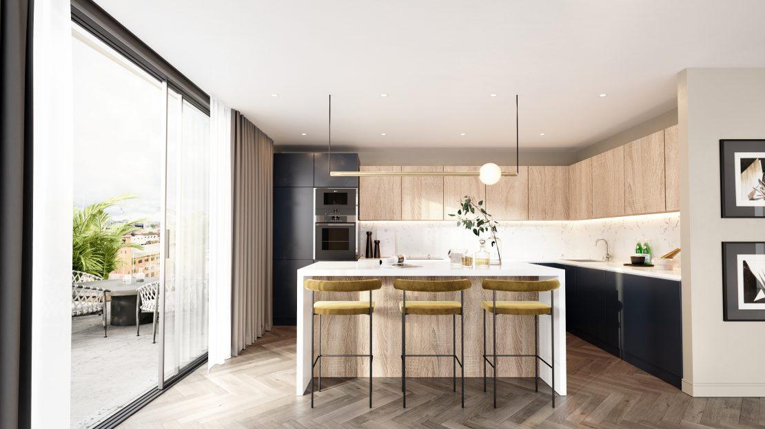 Castle Wharf kitchen, Deansgate