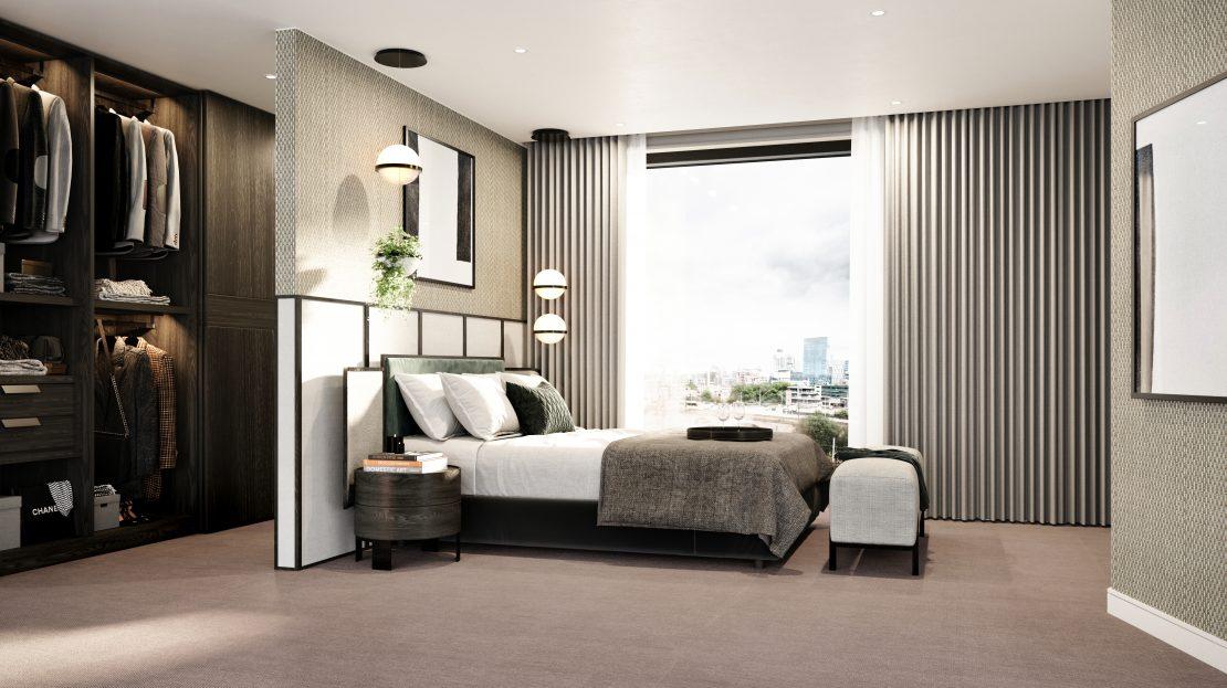 Castle Wharf , Deansgate Bedroom