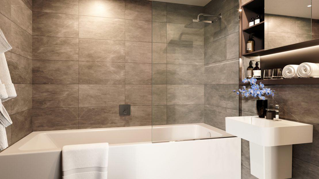 Castle Wharf bathroom Deansgate