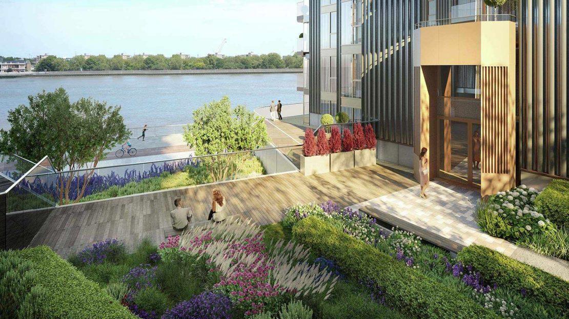 Royal Arsenal Riverside Garden
