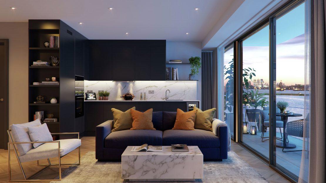 Royal Arsenal Riverside London Apartment