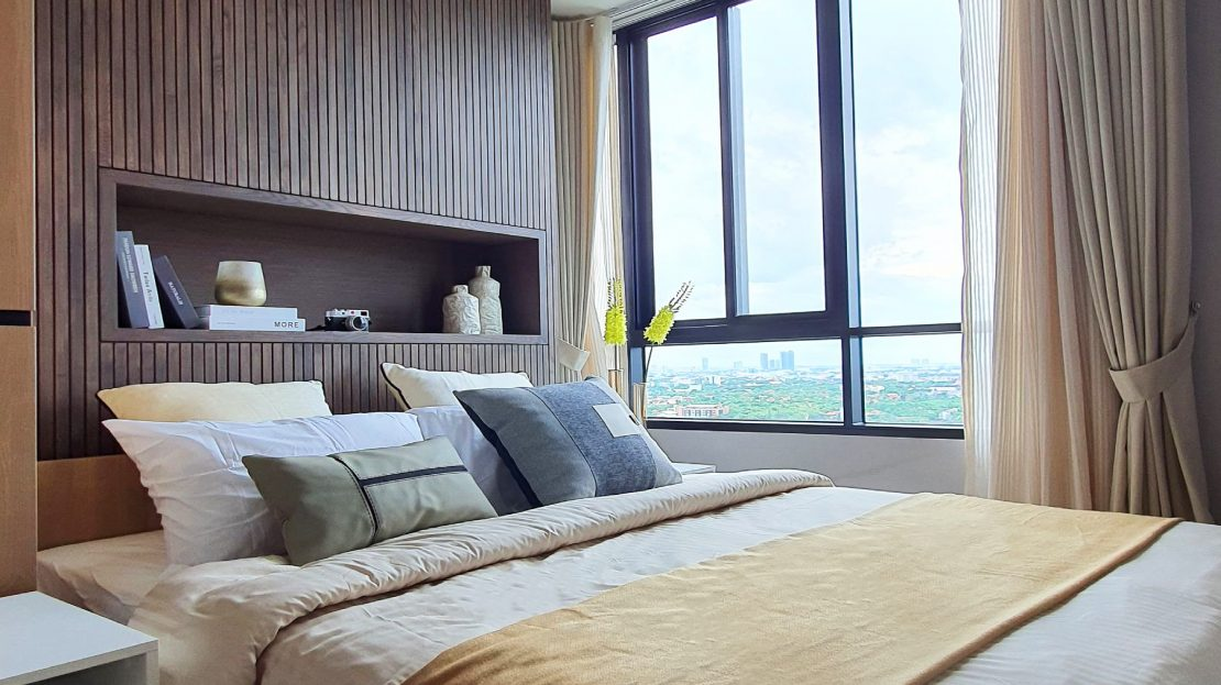 Nue Noble Chaengwattan bedroom