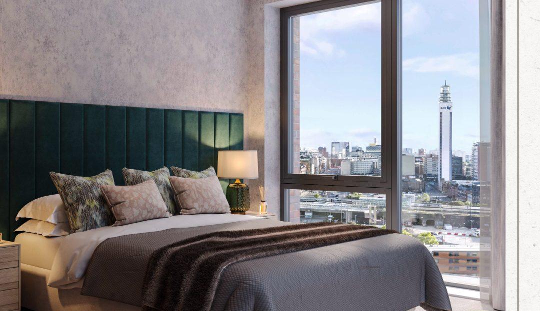 Snow Hill Wharf bedroom